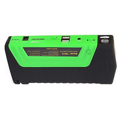 AWAKMER Booster Pack De Batterie De Démarrage Portable pour Voiture Et Alimentation USB/Ordinateur Portable avec Lampe De Poche À LED