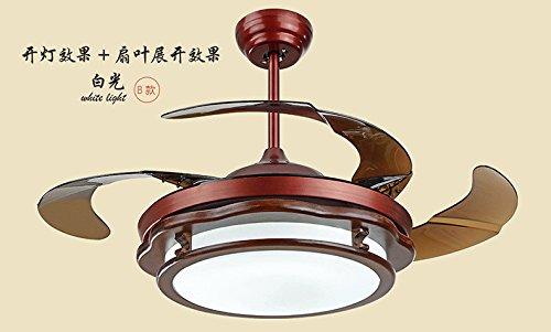 Lampadario di colore naturale cinese invisibile LED