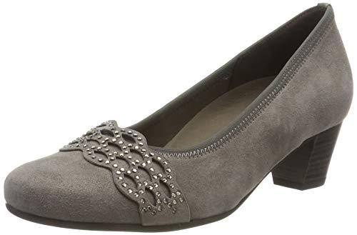 Gabor Shoes Damen Comfort Basic Pumps, Braun (Fango 12), 37 EU