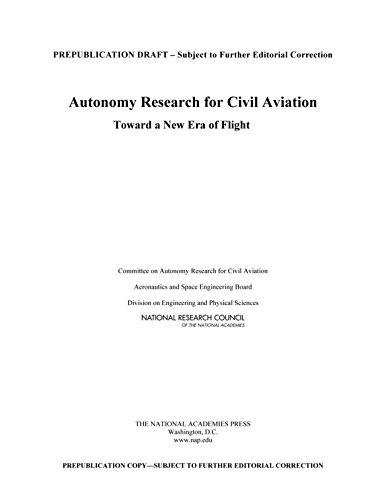 Autonomy Research for Civil Aviation: Toward a New Era of Flight