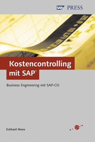 Kostencontrolling mit SAP. par Eckard Moos