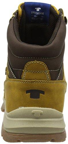 Tom Tailor 1681302, Brown Bottines Pour Hommes (braun (camel))
