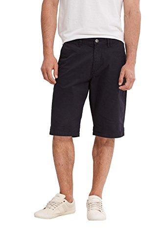 ESPRIT Herren Shorts 037ee2c001-Chino Schwarz (Black 001)