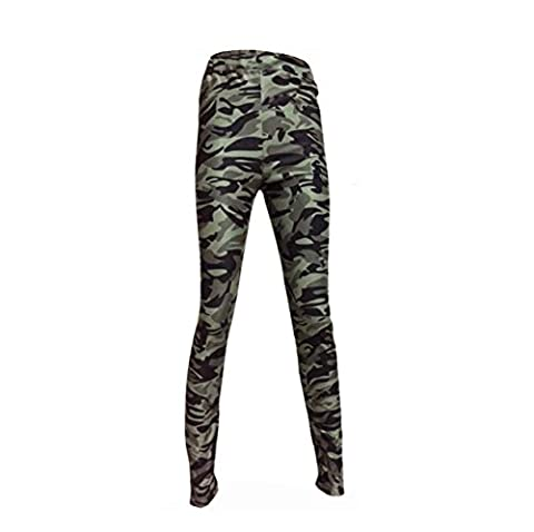 OverDose Women Casual Geometric Print Stretchy Pants