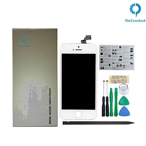 iPhone 5LCD Ersatz inklusive iPhone 5LCD Display und Digitizer (AT & T/Verizon/Sprint/T-Mobile) weiß für Modell A1428& A1429