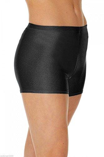 Roch Valley Micro Shorts aus Nylon/Lycra, Schwarz, 9-10 Jahre
