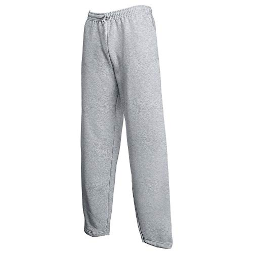 Classic Open Hem Jog Pants Farbe: Heather Grey Größe: XXL