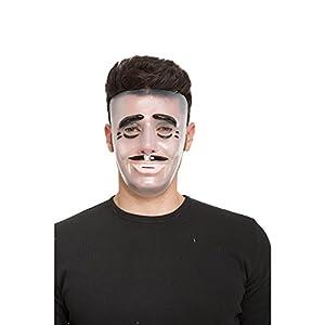 Viving Costumes Viving costumes204565Transparente máscara de Hombre (Talla única)