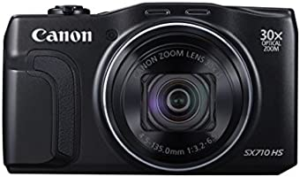 Canon SX710 PowerShot Point and Shoot Digital Camera - Black