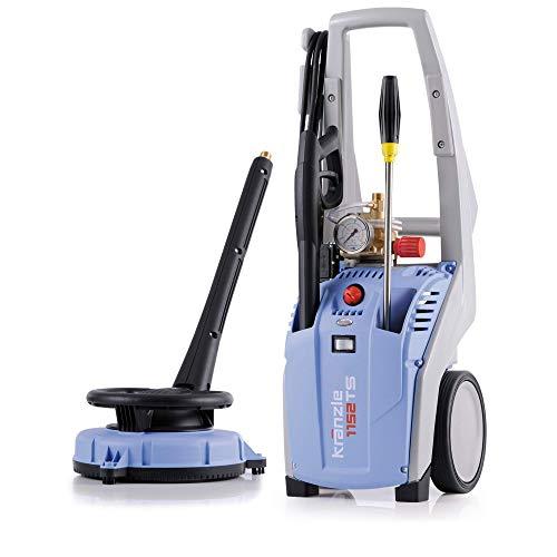 Kränzle Hochdruckreiniger K1152TS + 10m HD-Schlauch ohne Trommel + Round-Cleaner