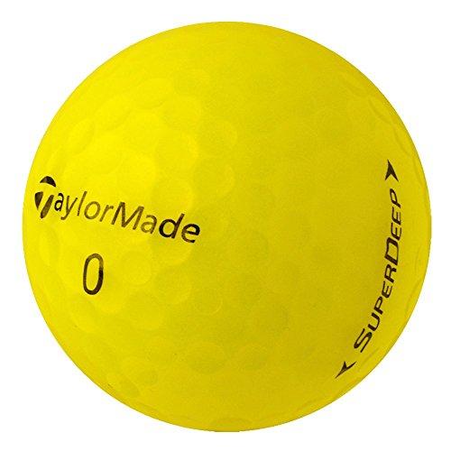 PearlGolf 50 Taylor Made SuperDeep - AAAA-AAA - gelb - Lakeballs - gebrauchte Golfbälle