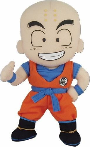 PELUCHE GRANDE DE KRILIN DRAGON BALL Z 22 CM