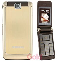 Samsung SGH S3600 (1,3 MP-Kamera, MP3-Player, Quad-Band) Luxury Gold Handy