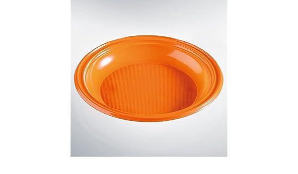 ISAP PACKAGING SPA 30 Piatti Fondi Arancioni