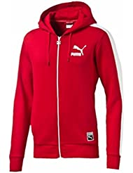 Puma Men's Hoodie red red