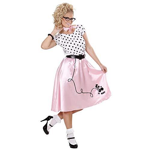 Costume anni '50 da donna '50s poodle girl', taglia l