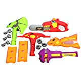 Toys Bhoomi 13 Piece Take Apart Dinosaur Robot Electronic Saw Play Tools Toy Set For Kids Toys Puzzle Games With Sounds And Lights (661-347)