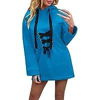 OdeJoy Frau Mit Kapuze Langer Abschnitt Sweatshirt Mode Lange Ärmel Mantel Solide Farbe Kleider Hoodies Pullover... preisvergleich bei billige-tabletten.eu