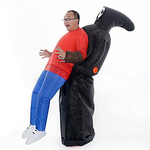 Firlar, costume di Halloween da fantasma gonfiabile, costume da equitazione, horrible fantasma