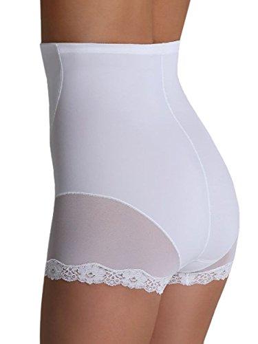 Eldar Damen Miederslip EVA mit Bauch-weg-Effekt Weiß