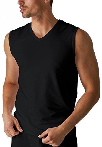 Mey Basics Serie Dry Cotton Herren Shirts 1/1 Arm Schwarz 5