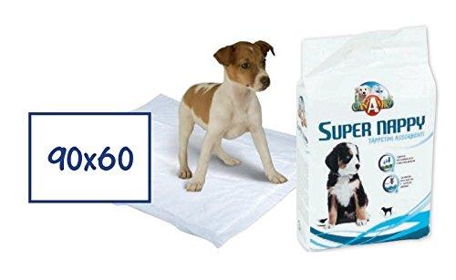CaniAmici Tappetini Assorbenti Super Nappy 90x60...
