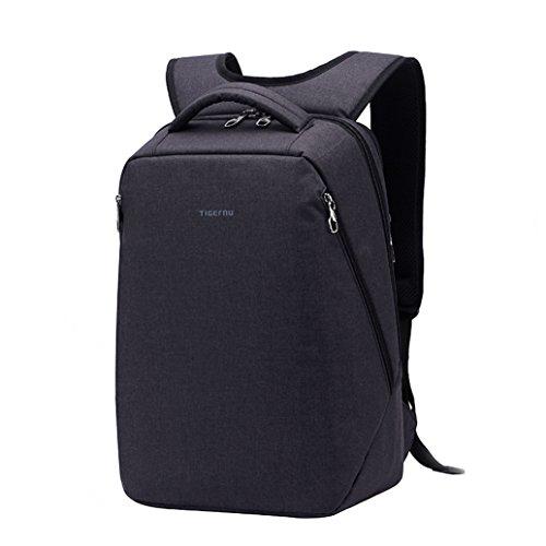 Slotra Zaino Laptop Backpack per il 17 pollici Viaggio di lavoro Borsa Zaino Scuola Anti Theft leggero Nero
