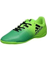 adidas X 16.3 TF, Scarpe per Allenamento Calcio Uomo, Verde (Versol/Negbas/Verbas), 44 EU