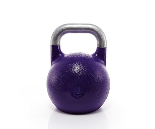 Suprfit Pro Competition Kettlebell 20 kg | Kugelhantel | Schwunghantel | Crossfit Gewichtheben Bodybuilding | Professional Studio Qualität | Stahl