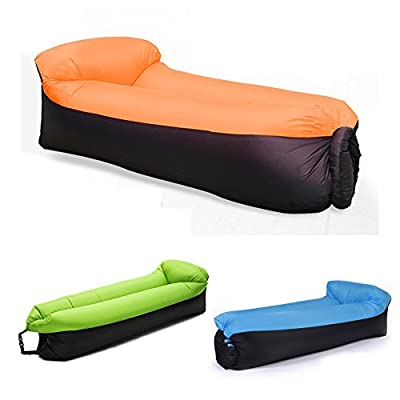 Inflatable Lounger Air Sofa Hammock-Portable,Water Proof & Anti-Air Leaking Design for Travelling, Camping, Hiking Ideal Inflatable Couch for Pool and Beach Parties - cheap UK light store.