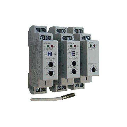 RO/SE STH-FH Schaltschrank - Thermostat -15 - +45°C mit 3m Sensor, 2 Kontakte Öffnen+Schließen -