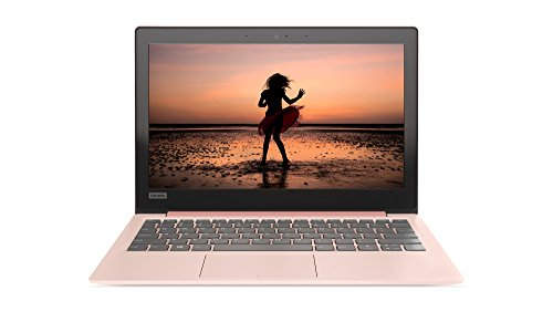 Lenovo IdeaPad 120S 29,5 cm (11,6 Zoll HD TN Antiglare) Slim Notebook (N3350 Dual-Core, 2 GB RAM, 32 GB eMMC, Intel HD Grafik 500, Windows 10 Home) pink