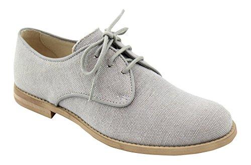 Oca Loca 6093-08, chaussures Derby garçon Gris