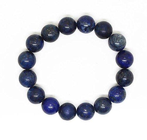 Bracciale in pietra naturale blu lapislazzuli braccialetto bracciale energia cristalloterapia bead lapis bracciale di perline/braccialetto regalo per gli uomini
