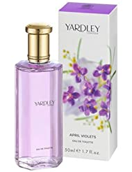 Yardley London April Violets POUR FEMME par Yardley London - 126 ml Eau de Toilette Vaporisateur