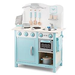 New Classic Toys 11063 Bon Appetite Kitchenette, Blue