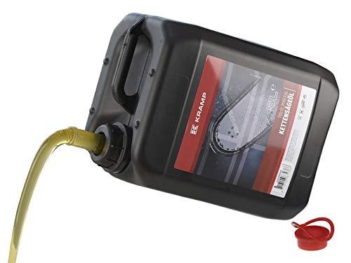 (Eur 2,33/L) 5 Liter Säge-Kettenöl Haftöl Kramp für Motorsägen