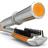 Lockenstab Curler Haare Locken Curly Hair Curling Iron Keramikbeschichtung Multifunktions Temperaturregelung Roll/Lockenwickler(Silber)