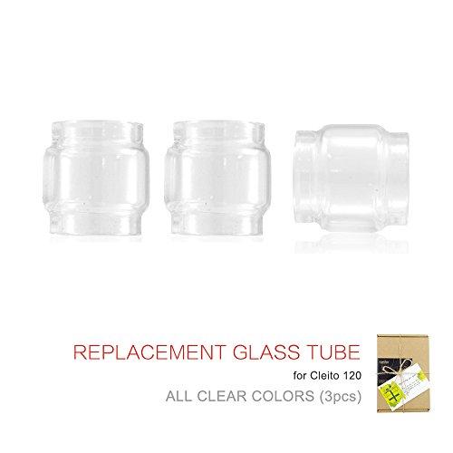 (3-Pack) Topuro Ersatz für Cleito 120 Glas Transparente Farben