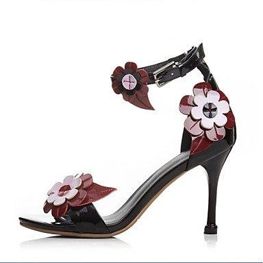 LvYuan sandali primavera scarpe club estivo fustigano partito&sera tacco a spillo White