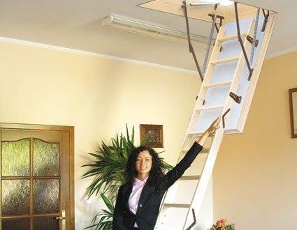Dachbodentreppe EXTREME Holz 1000x700 Bodentreppe U-Wert 0,55 W/m²K