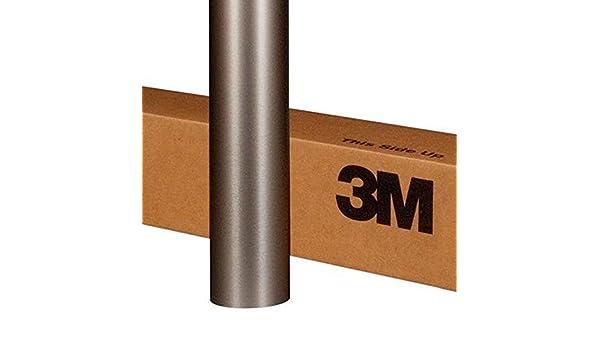 "3M Scotchprint Brushed Titanium Wrap Film 12/""x12/"" 1 sq BR230 ft"