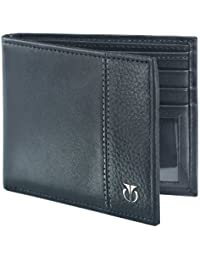 Titan Black Men's Wallet (TW111LM1BK)