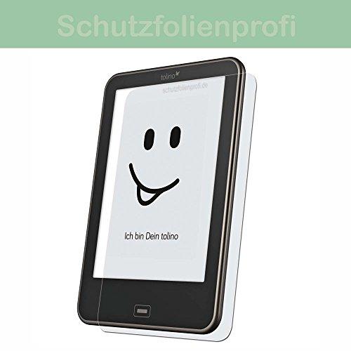 Tolino Shine 2 HD - 3x Maoni Anti-Shock Displayschutzfolie - seidenmatte Premium Folie Antireflex/Antifingerprint/Antibakteriell Schutz Folie
