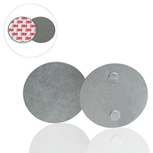 Safe2Home 5x Rauchwarnmelder Schnellbefestigung 5er Set - Rauchmelder Magnet Halterung für glatte...