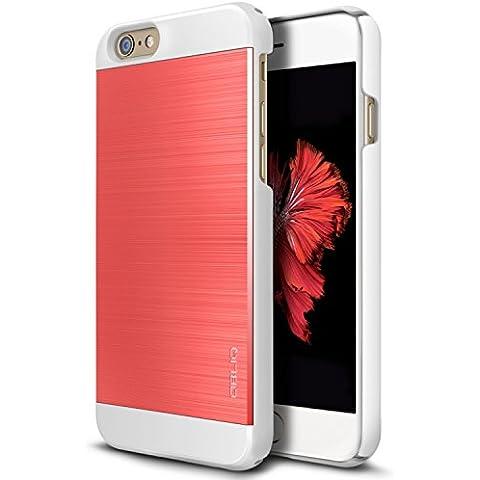 Obliq iPhone 6S/6S Plus Slim sottile e meta Meta II serie, plastica, Meta II Scarlet (Monte Hdtv)