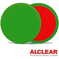 ALCLEAR 2 5516015G Flachpads Diameter 135 x 15 mm, green, set of 2 preiswert