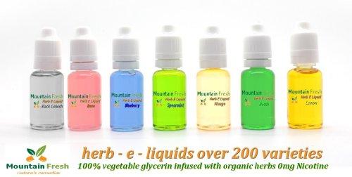 Milk Thistle Vaprorizer Vape e liquide 30ml 100% VG