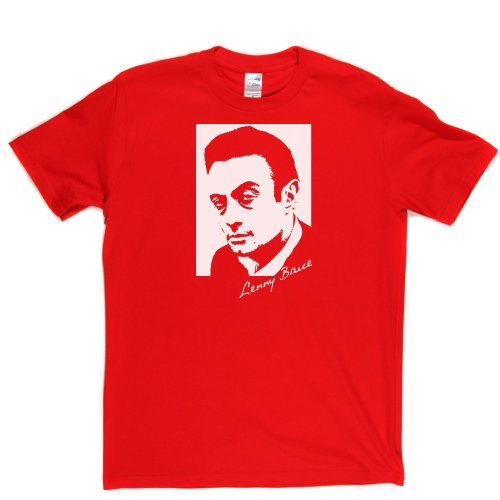 Lenny Bruce America n Stand Up Comedian Comedy T-shirt Rot