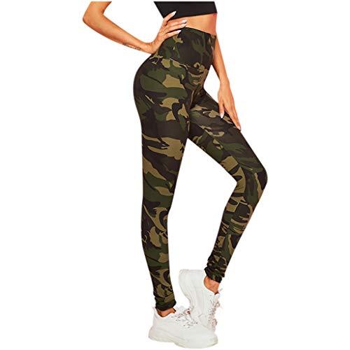 VPASS Mujer Pantalones Mallas Mujer Fitness Elásticos